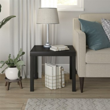 Modern Smooth End Table Expresso