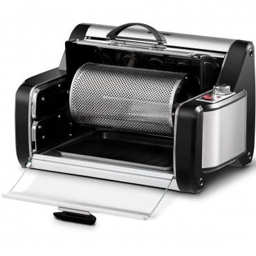 Horizontal Rotating Kebob Skewer Roaster Oven Grill