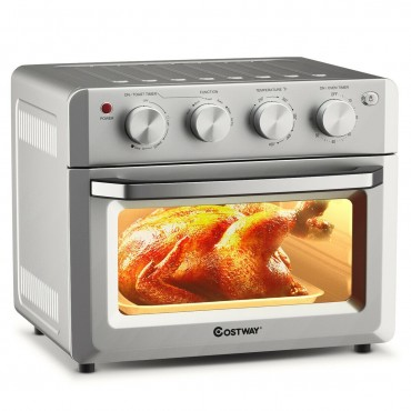 Toaster Oven Countertop 7-in-1 Convection Oven with Air Fry