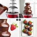 3 Tiers Stainless Steel Chocolate Fondue Fountain