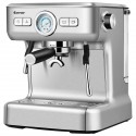 15 Bar Semi-Auto Espresso Coffee Maker Machine with Milk Frother Steam Wand