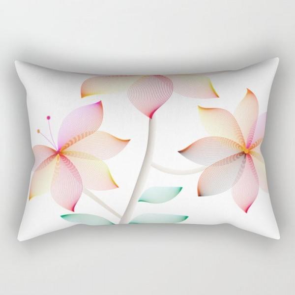 Geo Flower Pillow